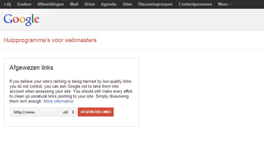 Webmaster-Hulpprogrammas