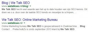 We Talk SEO